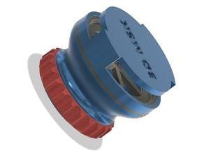 Universal exhalation valve for masks