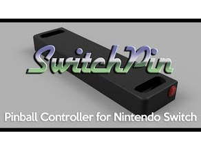 SwitchPin pinball controller for Nintendo Switch