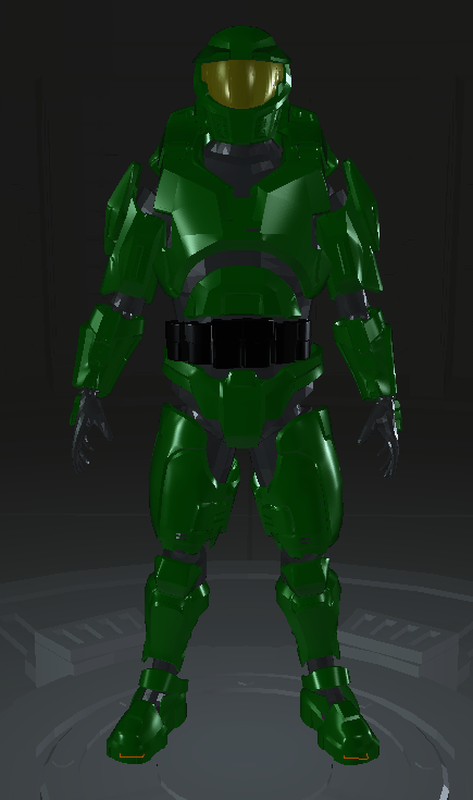 Halo Combat Evolved/Anniversary Hybrid Mark V Armor (edit of MoeSizzlac's armor, link in description)