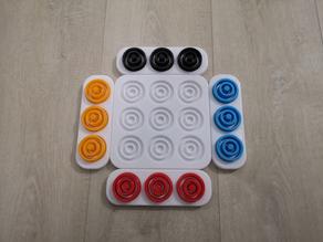 Otrio Game Board