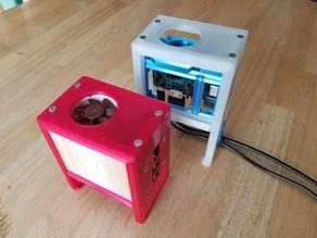 Raspberry Pi Mini Desktop Vertical Case with 40mm Fan