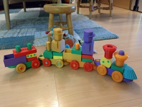 Additional parts for Zanfar Stacking Block Toy Train