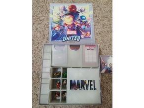 Marvel United - Core Box Insert and Organizer