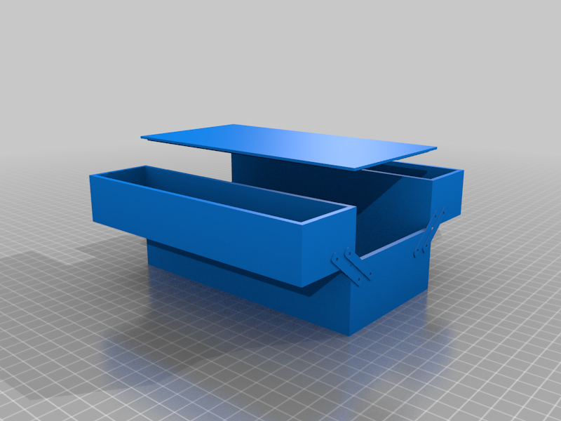 Cantilever 2-tier Box for Multimeter