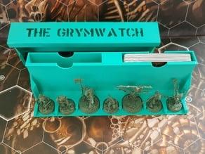 THE GRYMWATCH, BEASTGRAVE STORAGE, Calibration tool for Warhammer Underworlds