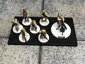 Legion Unit Trays (6 + HVY; Veterans and Shoretroopers)
