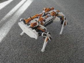 Robot dog, quadruped robot, 12DOF, 3DOF per leg