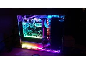 Mini ITX Case dual 92mm Radiator liquid Cooled *WORK IN PROGRESS*