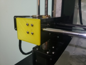 Anet A6 reinforcement x axis