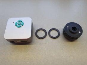 Eakins trinocular microscope camera ring