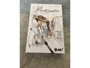 Montmartre - Card Game - Simple Insert