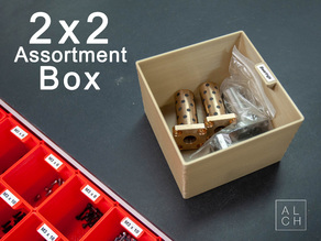 Assortment system box 2x2