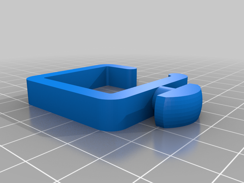 Cable management for 4040 extrusion