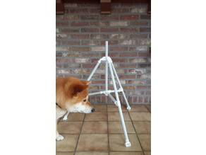 Tripod from 20mm PVC pipe