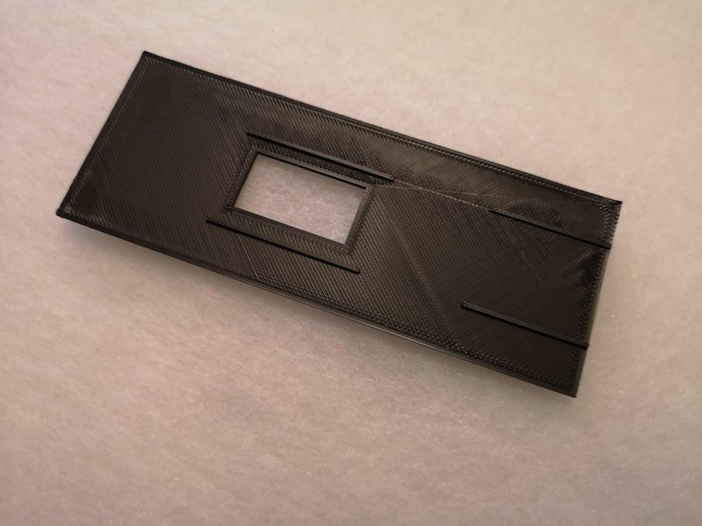 Adapter to fit APS film in Plexgear scanner