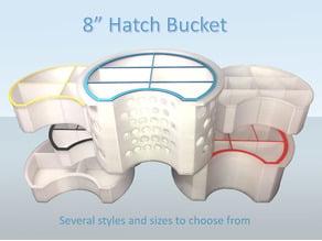 "Gear Bucket Organizer for Hobie 8"" Hatch"