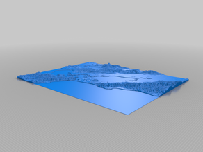 SF Topographic Map