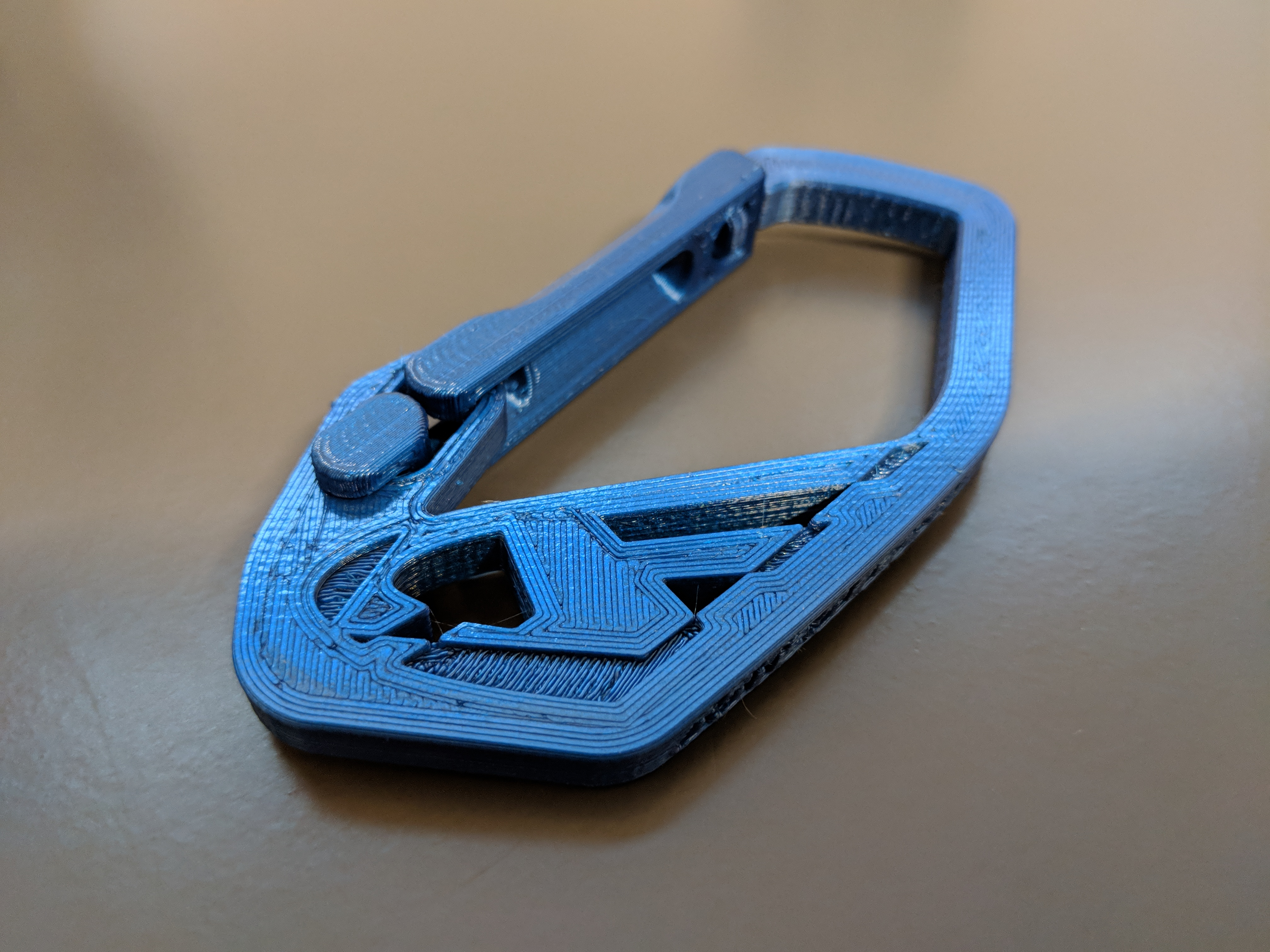 c42a3e9c65409  NEW  Strong Flex door Carabiner ddf3d Customized. Made by MKingCharles