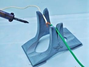 Solder Wire Holder For Gripping Wires