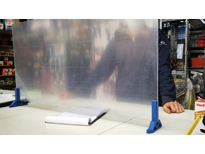 4mm Plexiglass Holder