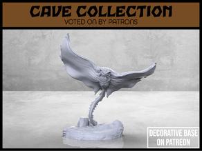 Manta Cave Bat - Version 1 - Tabletop Miniature
