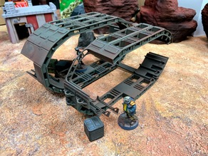 Transport Ship Frame Terrain