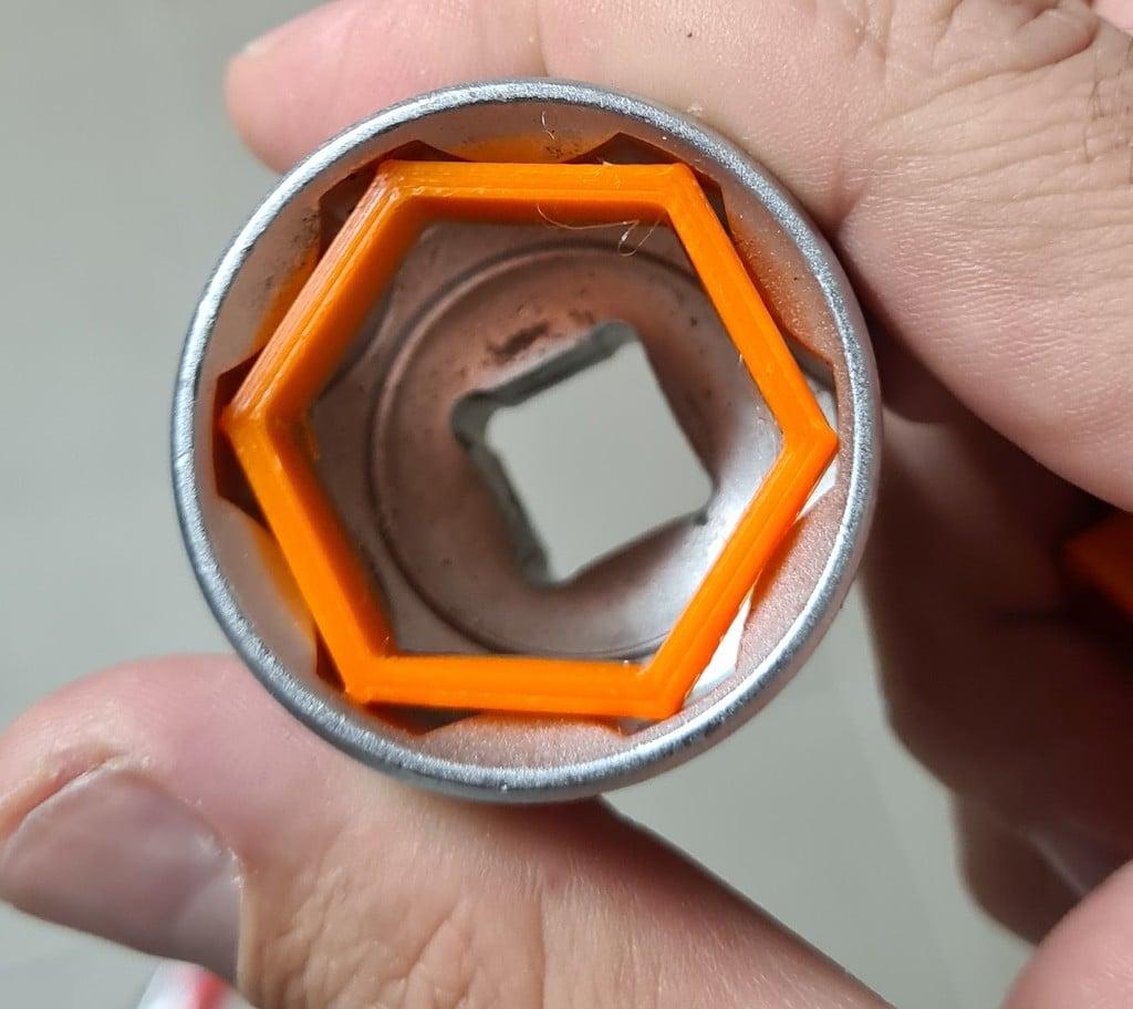 Hex Nut Adapter 30 - 26mm for Fox / Rock Shox 32
