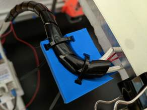 Hypercube Evolution (HeVo) Heatbed Cable Guide / Support