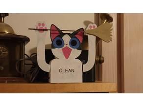 Cat Litter Cleaning Reminder (Arduino Nano)