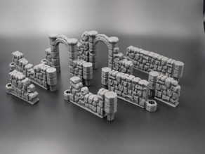 DungeonSticks: Ruined Stone With Magnet Holes