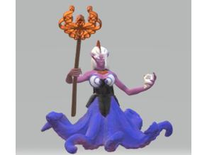 Dark Octopusfolk Priestess