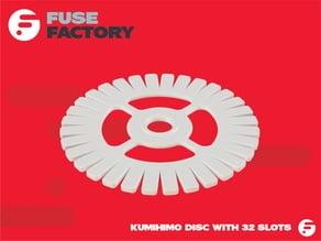 Kumihimo disc - 32 slots