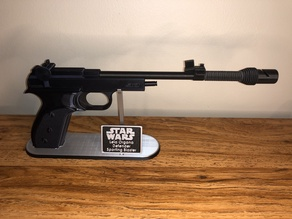 Leia Organa Defender Sporting Blaster Stand
