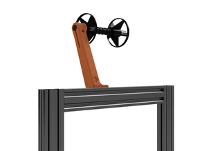 Versatile Spool Holder for 2020 extrusion frames