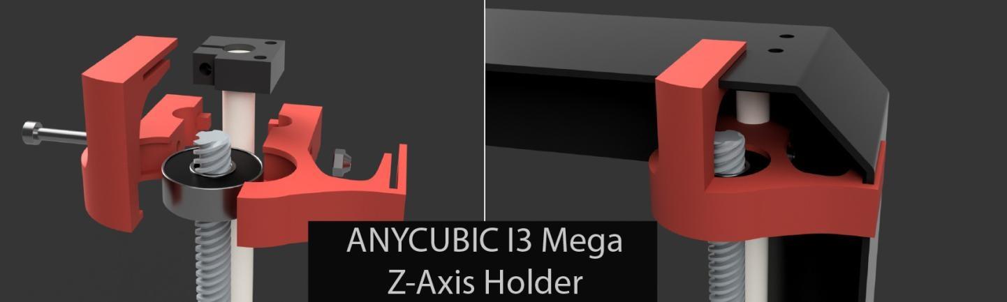 I3 Mega z-axis leading