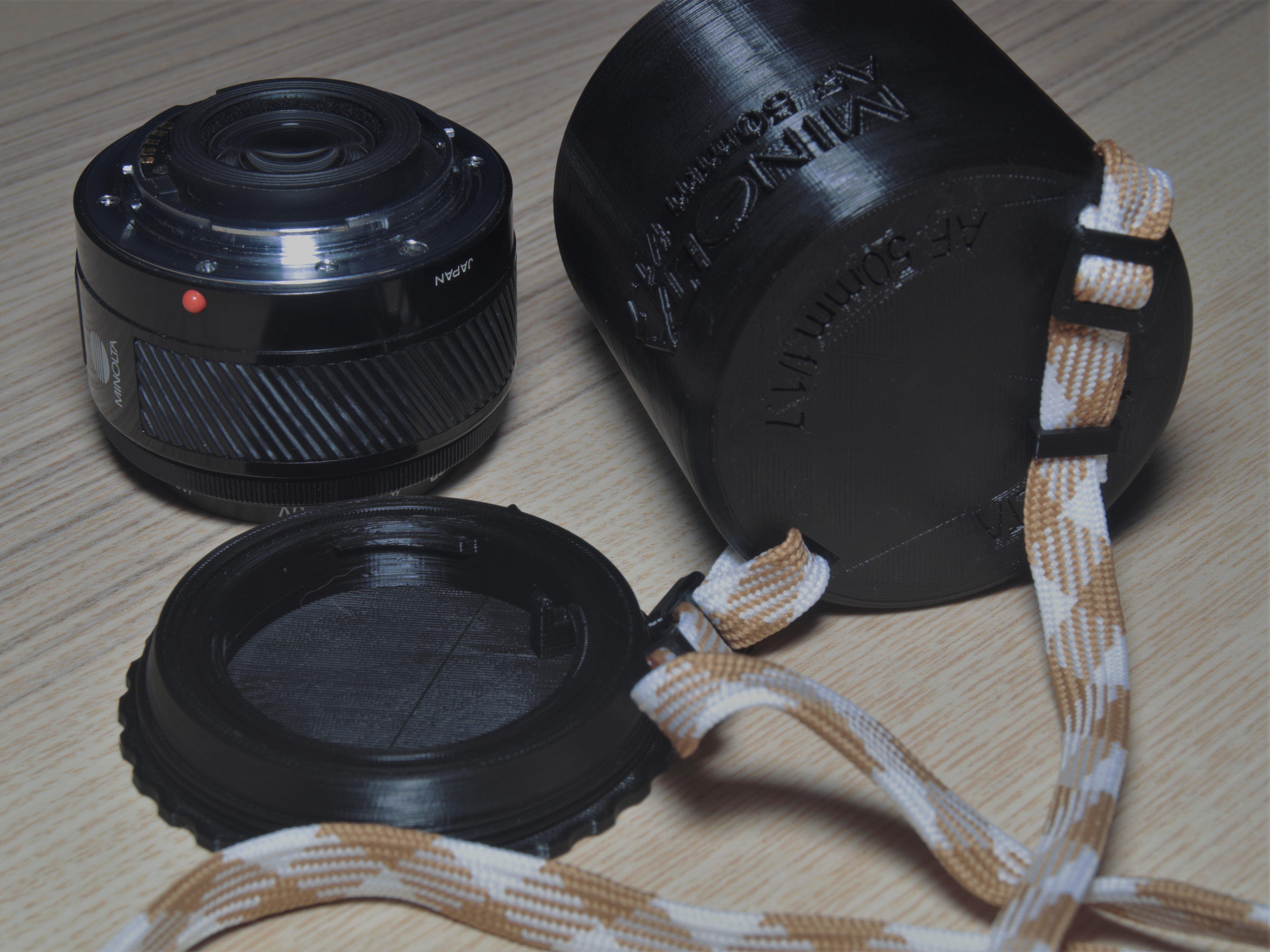 Lens case MINOLTA  AF 50mm 1:1.7(22)