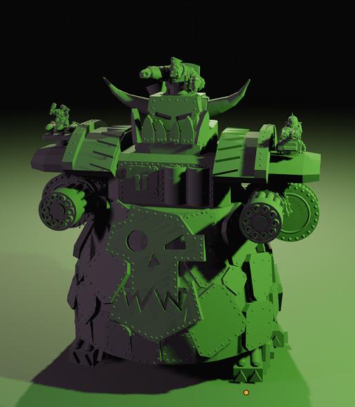 Happy Orktober! - Ork Titan