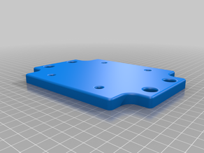 Fanatec Shifter 1.5 mounting plate for 80x40 aluminum profiles