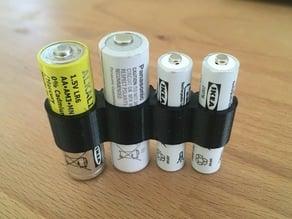 2 x AA + 2 x AAA battery clip