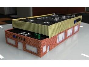 N-Scale Steris Surgical Engineering Building