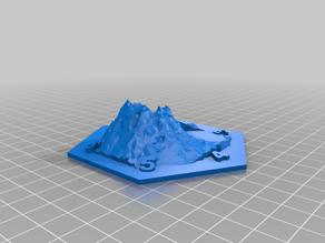 Catan Volcano hex