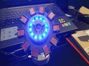 Arc Reactor (with NeoPixel ring and Wemos D1 Mini)