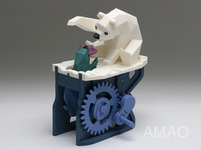 Polar Bear with Seal (automata)