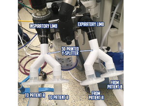 Ventilator Circuit Splitter