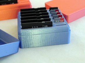 Memory Card Box and Lid - customizer