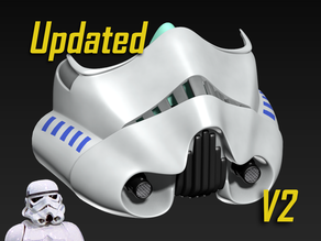 COVID-19 Mask Cap, Stormtrooper Edition