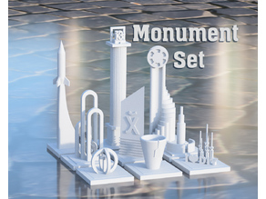 Monument Set [Greeble City]
