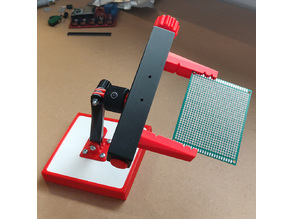 PCB vise with modular mounting system