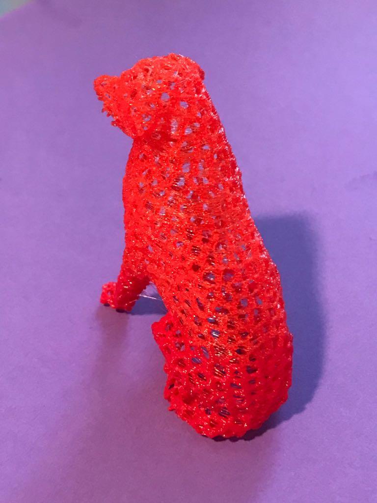 Makes Of Labrador Retriever Dog Voronoi By Firulais Thingiverse