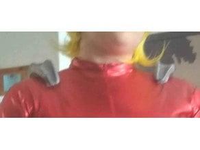 totally spies shoulder cosplay (epaulette)